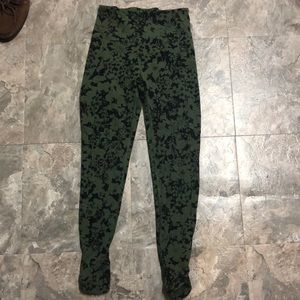 Printed lululemon leggings